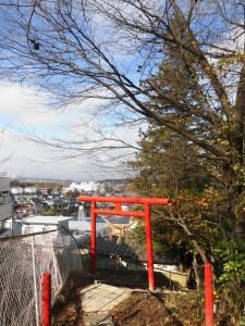 ちなみにこれは台原駅付近の神社。わかるかなー?