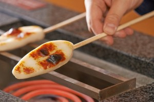 笹かまぼこの手焼き体験もあります!美味しいよ~